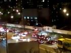 Активисты на автомобилях заблокировали базы «Беркута» в Киеве и Василькове