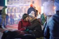 Фотографы обнародовали снимки с Евромайдана за 30 минут до разгона. Часть II