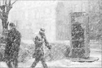 На выходных погода будет совсем не «майданная»: снег и метель