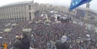 Сегодняшний «Марш миллионов» с высоты птичьего полета. Фантастические кадры