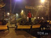 Ночь на баррикадах. Как это было. Часть I