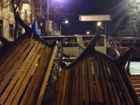 Ночь на баррикадах. Как это было. Часть II