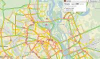 Киев парализовали десятибалльные  пробки