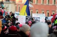 В Варшаве начались пикеты в поддержку Евромайдана
