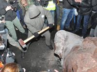 Европейский правозащитник: Снос мраморного Ленина в Киеве – это чистейшей воды вандализм