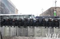 Внутренние войска заняли Киев не для силового разгона Евромайдана /МВД/