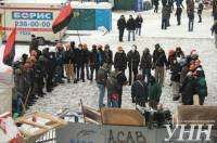 Майдановцы готовятся к штурму. Свежие фото