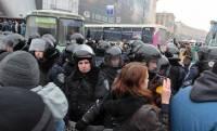 Оппозиция заявляет, что в центр Киева стянули уже около тысячи силовиков