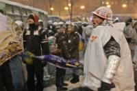 На Майдане - около 10 тыс. человек. Количество людей растет