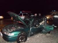 На Ровенщине «Хонда» вступила в неравный бой с фурой: пострадали два человека