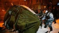 В МВД заявили, что ночью была не зачистка Евромайдана, а «мероприятия по благоустройству»