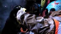 Видео ночного штурма Евромайдана. Институтскую зачистили, пострадали депутаты и миллиционеры