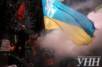 Как «Беркут» штурмовал Майдан возле Дома профсоюзов. Фоторепортаж