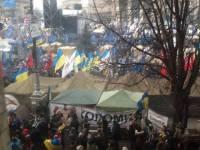 В МВД уже отрапортовали, что эта ночь на Майдане прошла спокойно