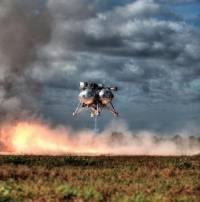 В NASA провели испытания уникального посадочного модуля