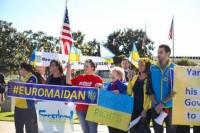 В Лос-Анджелесе прошел четвертый Евромайдан