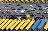 ВДНХ в Киеве забита сотней автобусов с крымскими номерами