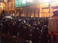 Пшонка назвал число «беркутовцев», которые жестоко разогнали Майдан. Правда, намекнул, что виноваты не они
