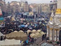 На «День достоинства» вышли уже около 200 тысяч человек