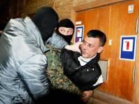 В «Свободе» заявили, что в Доме профсоюзов задержали провокатора в погонах