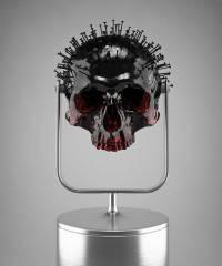 В это сложно поверить, но есть люди, которые видят прекрасное даже в пробитом гвоздем черепе