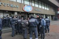 Столичный отель оккупировали почти полтысячи днепропетровских бойцов