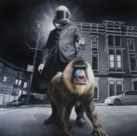 Американский художник, сам того не ведая, удивительно точно отобразил «Беркут», «титушек» и украинскую оппозицию