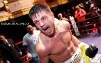 Еще один украинский боксер начал свою профессиональную карьеру с победы нокаутом