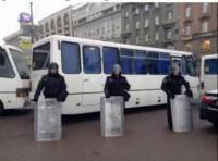 Как «Беркут» в День милиции Майдан отрезал