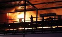 Под Киевом сгорел оптовый рынок. Два человека погибли