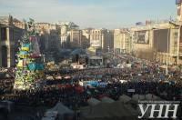 Народное вече 22 декабря – как это было. Фоторепортаж с места событий