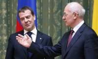 Встреча Азарова с Медведевым продлилась целых пять минут