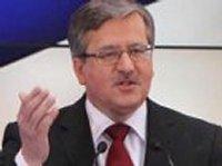 Президент Польши уверен, что Янукович только берет деньги у России, а вообще душой он за Европу