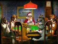 Под Новый год Санта-Клаусу найдется место даже в шедеврах мировой живописи