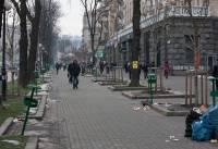 Во что превратили киевский Крещатик обитатели Евромайдана. Свежее фото