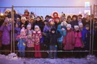 Здравствуй, дедушка Мороз. На встрече с символом Нового года в Самаре детишек загнали за решетку
