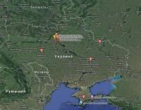 Добрые люди создали карту офисов и домов людей, связанных с режимом Януковича