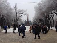 Российская полиция оперативно разогнала «народный сход» в Волгограде