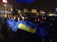 Манифестанты на Евромайдане усиливают охрану занимаемых зданий