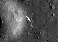 Американцы сфотографировали с орбиты китайский луноход
