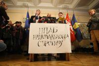 Евромайдан заявляет о провокациях со стороны СБУ и КГГА: отопление отключили, очистку биотуалетов сорвали