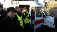 Автомайдан устроил пикет у дома Захарченко. Табачнику приготовиться