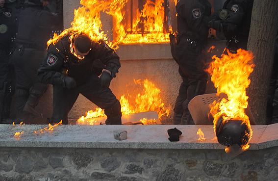 На Соломенской площади в Киеве почтили память погибших правоохранителей - Цензор.НЕТ 282