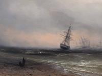 Картину Айвазовского, ранее похищенную, подкинули обратно в музей