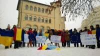 Украинцы по всему миру встали в поддержку Евромайдана. Фоторепортаж с места событий. Часть II