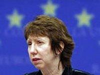 Эштон отказалась комментировать появившиеся в Интернете записи телефонных разговоров еврочиновников об Украине