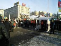 Сообществом военных на Майдане руководит кавалер ордена Красной Звезды из той самой 9-й роты