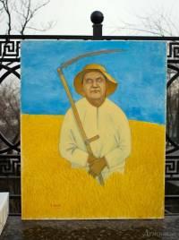 Одесситы организовали выставку карикатур на Януковича