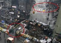 Ситуация на Грушевского снова накаляется: силовики выставили кордон, протестующие закрыли проезд