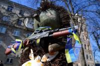 После разговоров о мобилизации, в Киеве даже знаменитый «Ежик в тумане» вооружился автоматом